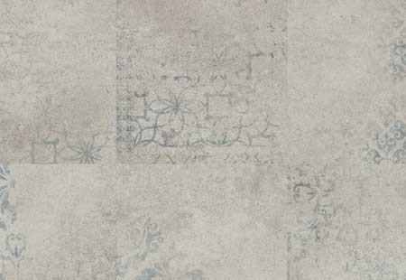 Stencilled Concrete