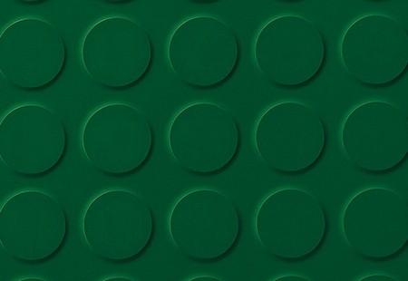 SaarFloor Noppe Stud Tile - Green Baize 15
