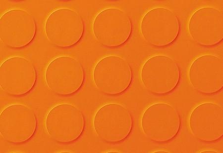 SaarFloor Noppe Stud Tile - Orange 10